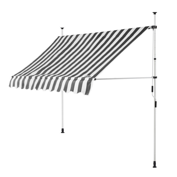 Clamp Awning White/Grey 8ft