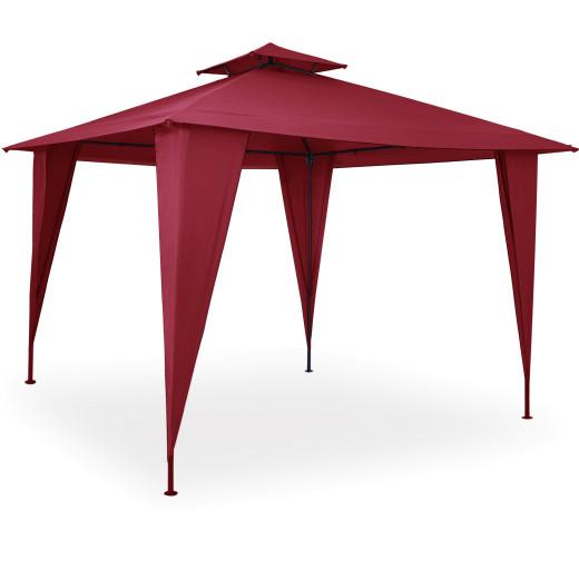 Pavillon Sairee in Rot 3,5x3,5m