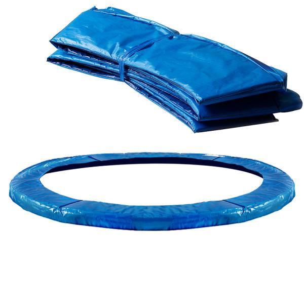 Federabdeckung Trampolin Blau Ø 305 cm