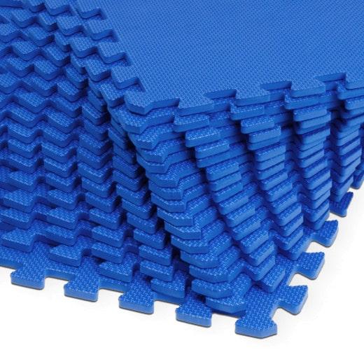 Puzzlematte Blau 32tlg. 6,48m²
